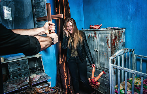 INDESTROOM ESCAPE ROOMS CONSTRUCTION COMPANY EXORCIST